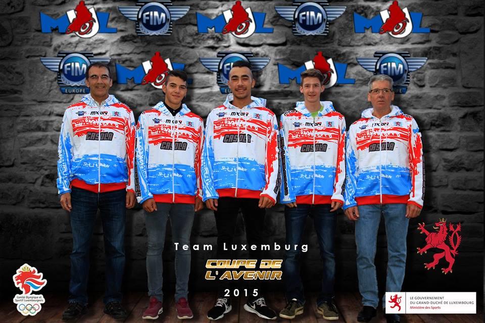 Equipe du Luxembourg - Coupe de l'Avenir 2015